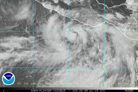 First tropical storm of the season in the making?